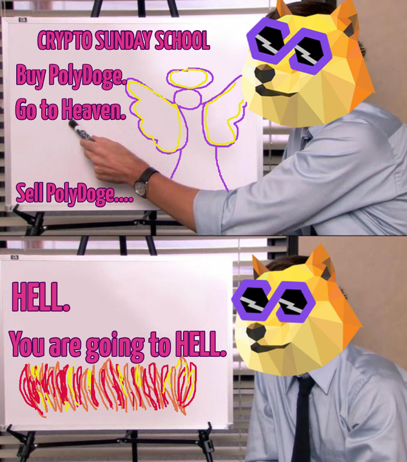 crypto-sunday-school-buy-polydoge-go-to-heaven-sell-polydoge-hell-831-1